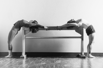 Iyengar Yoga in Kalispell, Montana. Photographed by Mandy Mohler of Field Guide Designs.