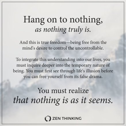 hang-on-to-nothing-as-nothing-truly-is---you-must-realize-that-nothing-is-as-it-seems---zen-thinking-quote---brian-thompson---advaita---non-duality